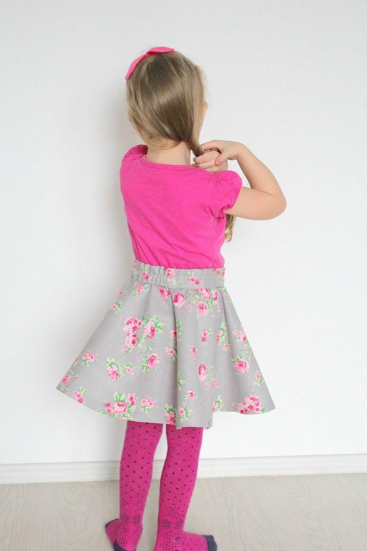 best 25+ diy circle skirt ideas on pinterest   circle skirt