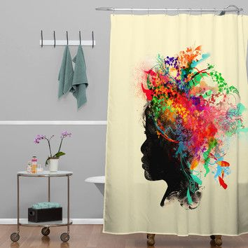 You'll love the Budi Kwan Wildchild Shower Curtain at AllModern - With Great Deals on modern Bath  products and Free Shipping on most stuff, even the big stuff.