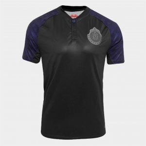 Chivas 2017-18 Season Away Liga MX Shirt Jersey [K753]