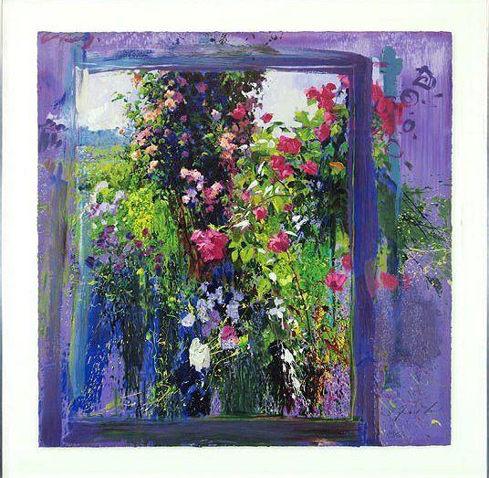 Rosas de Giverny  J Torrents Llado--my FAVORITE artist!