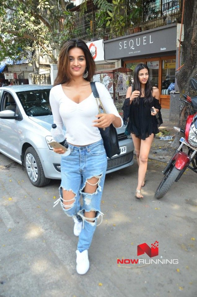 Nidhhi Agerwal snapped at Sequel
