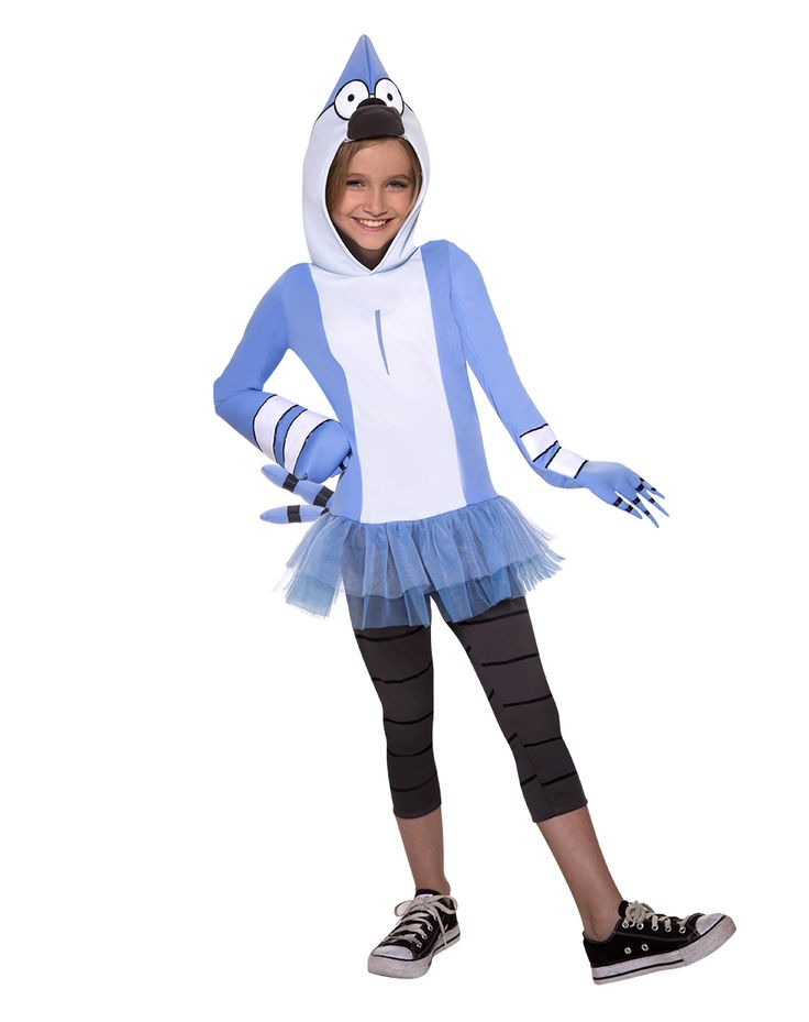 regular show mordecai child costume exclusively at spirit halloween dress as your favorite warm hearted - Blue Halloween Dress