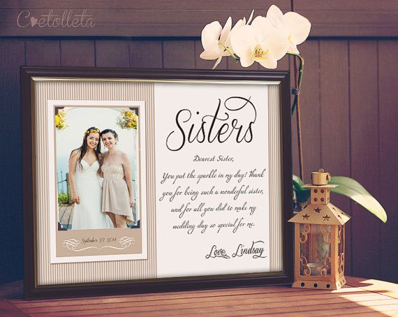 Hey, I found this really awesome Etsy listing at https://www.etsy.com/listing/218965207/sister-gift-bridesmaid-gift-sisters