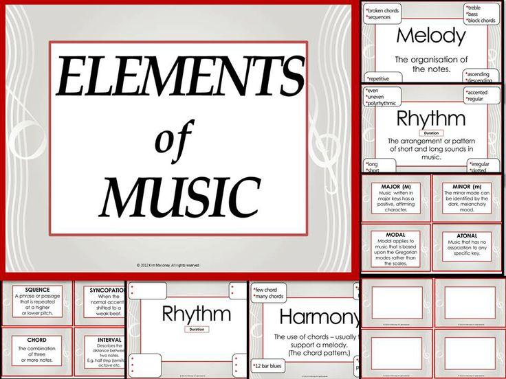 Elements Of Music Worksheet Worksheet List