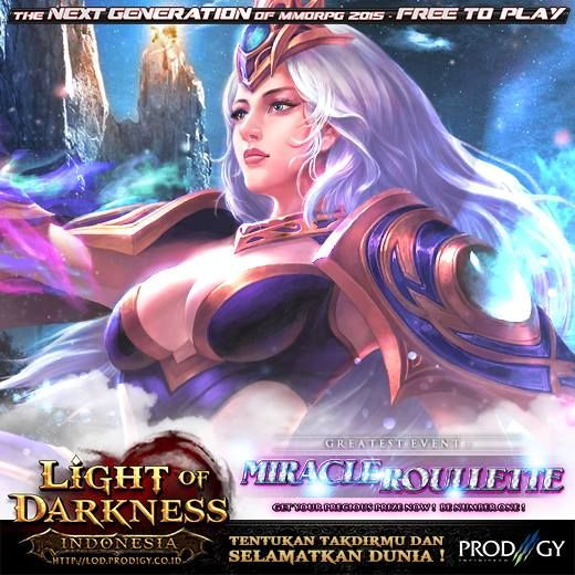 Light of Darkness Miracel Roullette Event