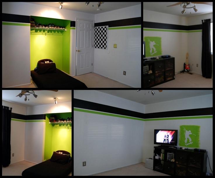 Crazy for chipboard xbox green elijahs room pinterest for Bedroom designs games