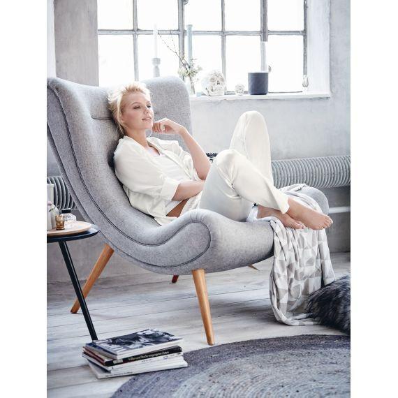 Design-Sessel, Retro Look Vorderansicht