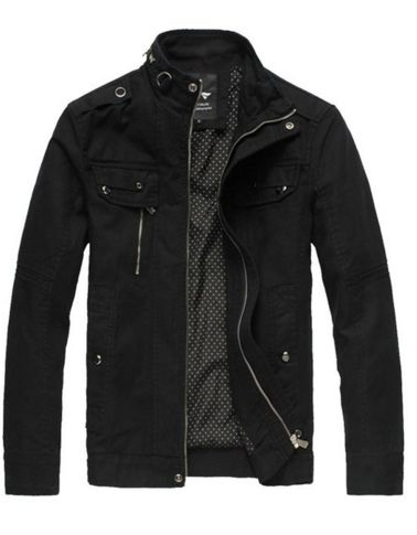 Army Jacket in Black – Sweater Weather Co.