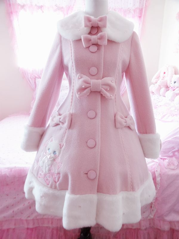 Whimsical Vanilla Chan Coat