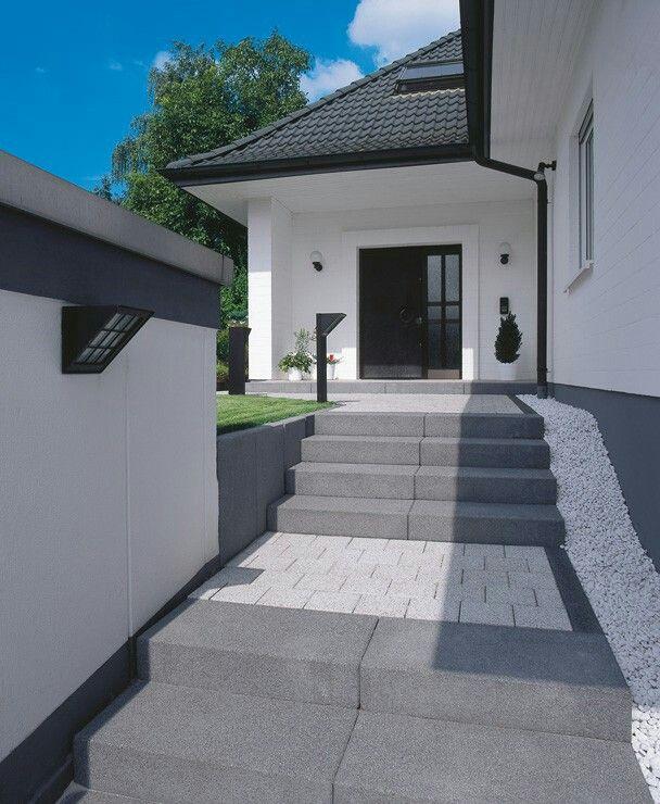 Das Tocano Stufenprogramm Fügt Stufen Und Treppen Harmonisch In Die  Gartengestaltung Ein. Mit Gestrahlten Ansichtsflächen In Acht Farben.