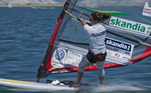 Bryony Shaw won a silver medal at the RS:X World Championship, on Wednesday (6 March), her first ever podium finish at a World Championships.