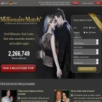 MillionaireMatch.com is chosen as the top one millionaire dating site after we reviewed more than 100 millionaire dating sites. Millionaire Match is the first, most effective and largest site in the world to bring together with successful singles.  http://www.mostsuccessfuldatingsites.com/millionairematch/