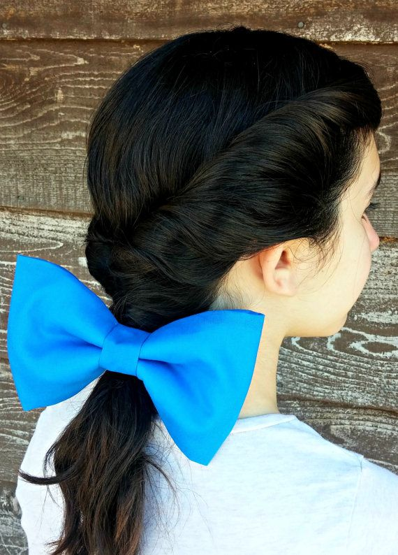 BELLE Beauty and the Beast Large Blue HAIR by QueenElizabethAprons