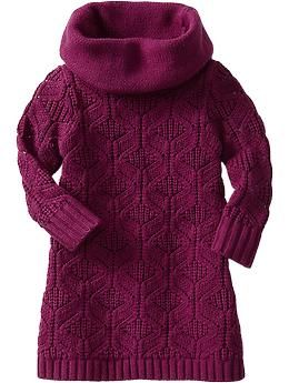 Cable-Knit Cowl-Neck Sweater Dresses for Baby | Old Navy #alfordfamilychristmas2013
