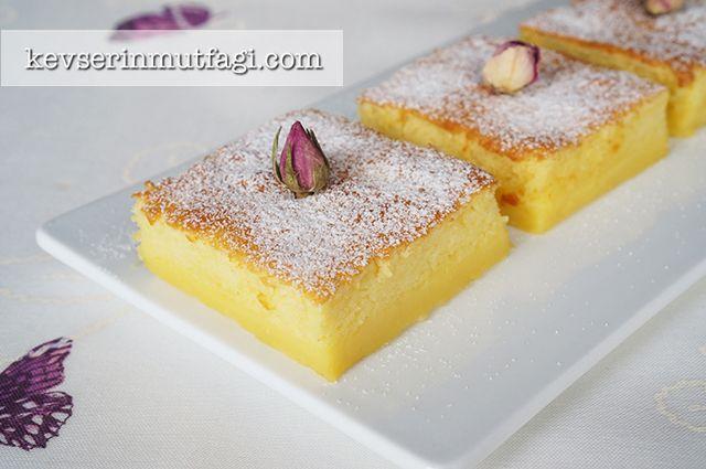 Sihirli Kek Tarifi Nasıl Yapılır? Kevserin Mutfağından Resimli Sihirli Kek tarifinin püf noktaları, ayrıntılı anlatımı, en kolay ve pratik yapılışı.