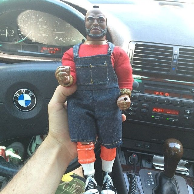"""72 Likes, 7 Comments - Sean Wotherspoon (@sean_wotherspoon) on Instagram: """"I pity the fool! Just came up on this Mr.T at an antique store in Fredericksburg"""""""