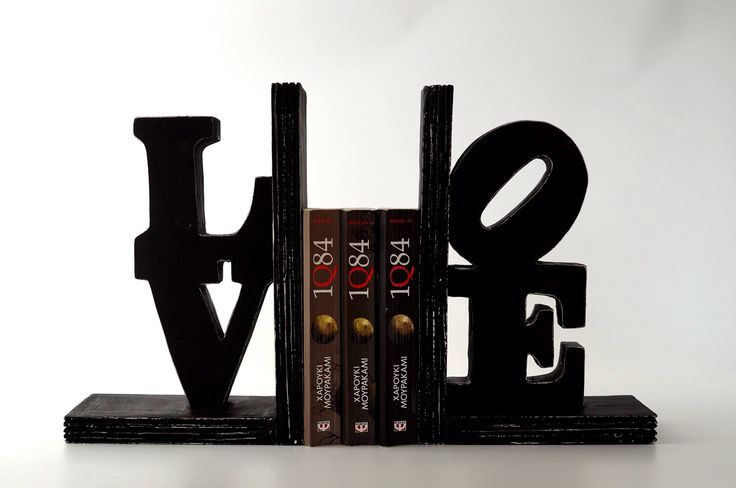 A handmade wooden bookcase for your loved books!