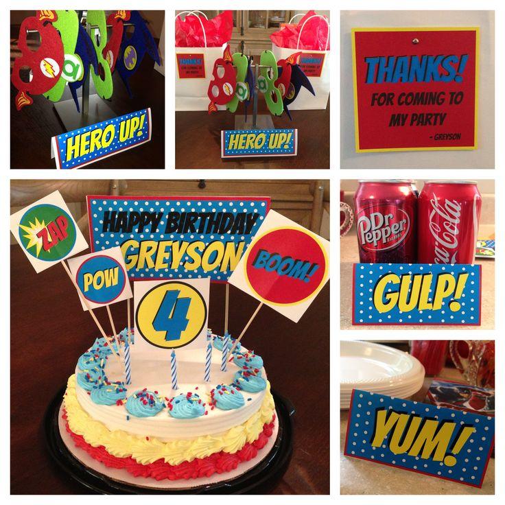 Super-hero party
