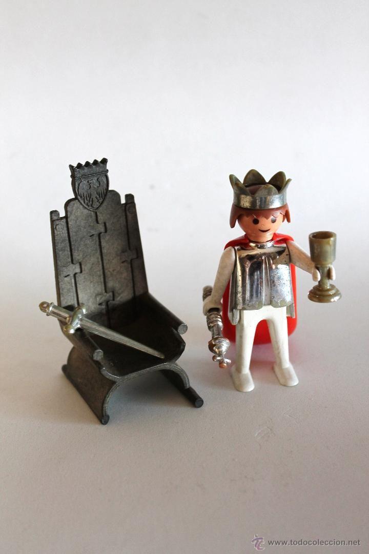 Rey medieval Famobil - Playmobil - Referencia 3331 - Completa pero sin caja