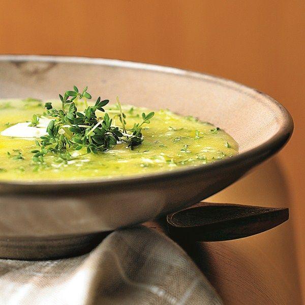Aardappel-tuinkerssoep #WeightWatchers #WWrecept #soep