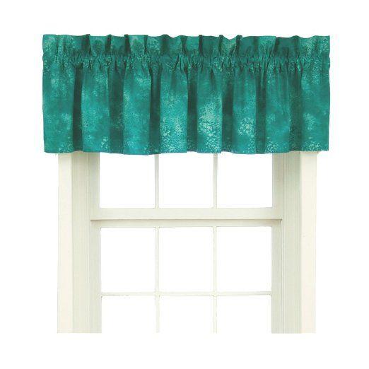 Sea Kitchen Curtains Amazon: Caribbean Coolers Window Valance