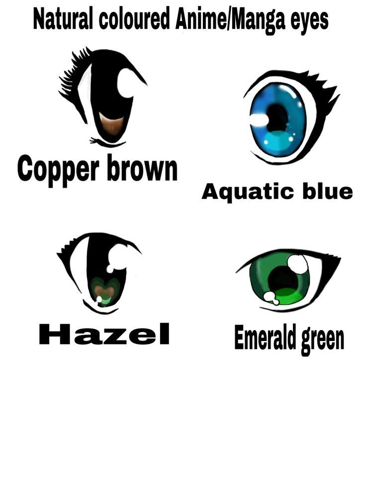 Here are some naturally coloured and simple anime eyes I drew digitally #digitalart #digitalillustration #art #anime #animedrawing #manga #mangaart #illustration #eyes #green #blue #hazel #creative #simple #animation
