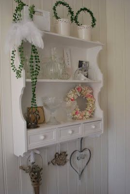 Repisa con cajones: Design Products, Ideas For, Vintage Shabby Chic, Domov Dekorace, Bellas Decoraciones, White Beautiful, The, All, With Drawers