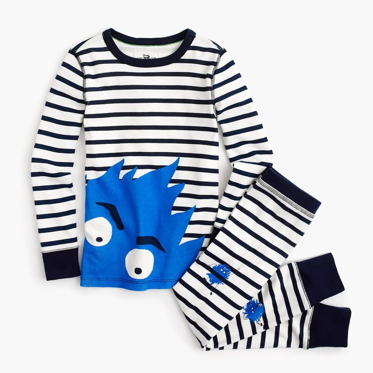 J.Crew - Boys' pajama set in Max the Monster