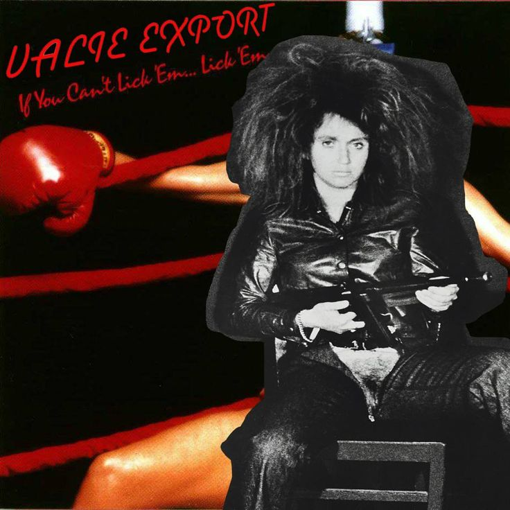 Valie Export: If You Can't Lick 'Em … Lick 'EmRobby Herbst