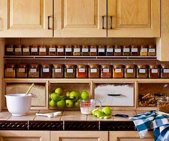 Die besten 25+ Gewürzaufbewahrung schrank Ideen auf Pinterest - schubladen küche nachrüsten