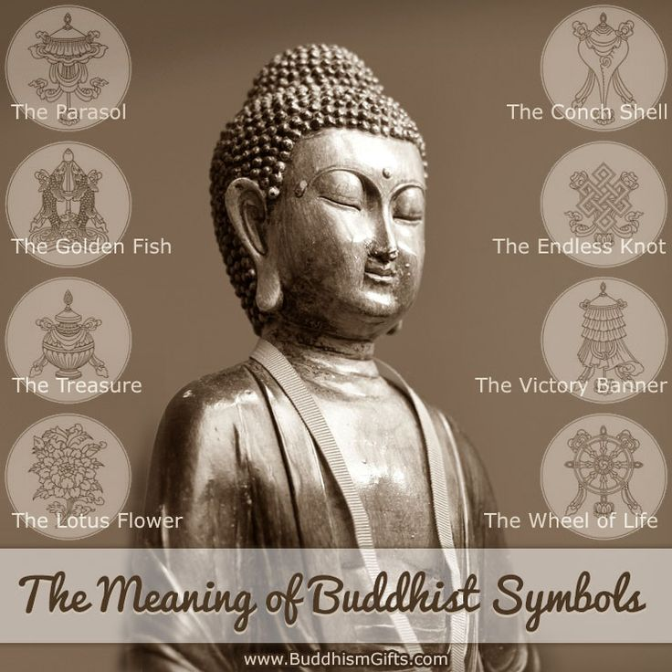Looking for the meanings of Buddhist symbols? The Meaning of Buddhist Symbols will walk you through the eight most well known Buddhist symbols and their meanings.
