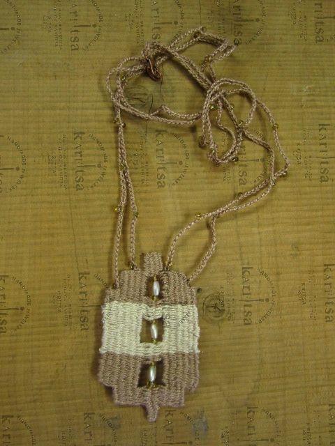 micro weaving handmade jewelry