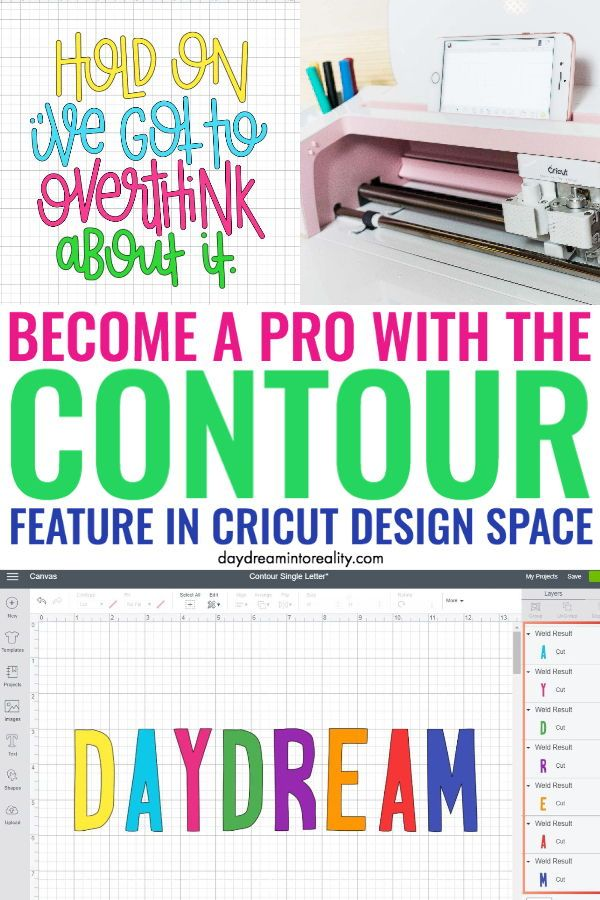 How To Contour In Cricut Design Space And Why Isn T Working In 2020 Cricut Design Cricut Cricut Tutorials