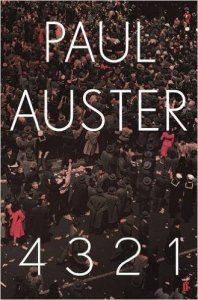 January Releases - 4321 by Paul Auster http://amzn.to/2hXb3rz