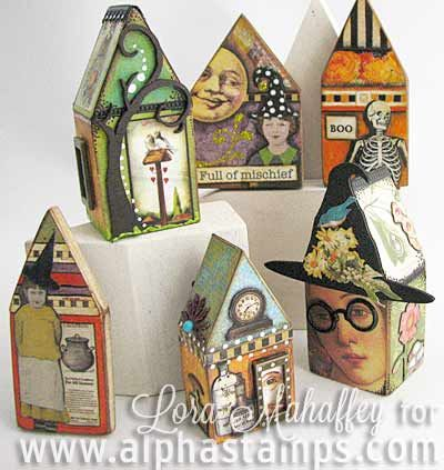Alpha Stamps News » Mini China Cabinets (and a Tiny Dollhouse inside)