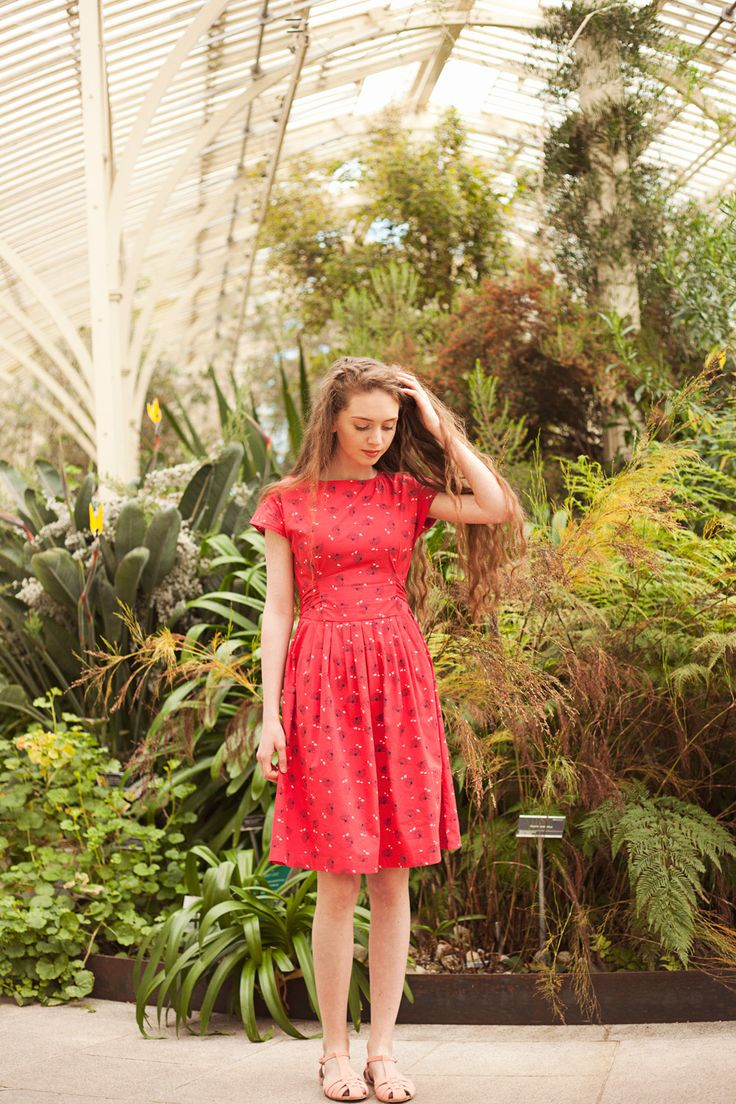 The coral print Loretta dress from Circus