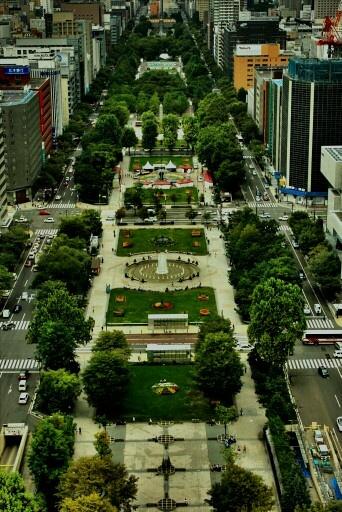 Odori park, Sapporo, HOKKAIDO