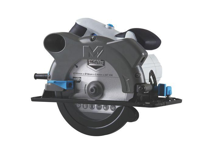 Mac Allister 1200w 165mm Circular Saw Mscs1200 Diy
