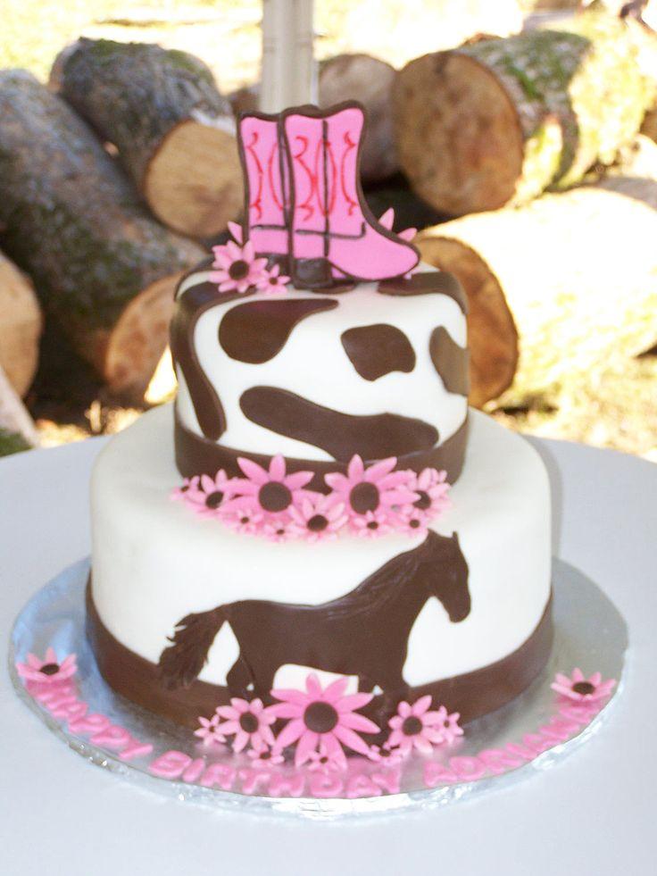 cowgirl cake: Cake Ideas, Horses Cake, Cowgirls Birthday, Parties Ideas, Cowgirls Cake, Horses Birthday, Hors Birthday, Birthday Ideas, Birthday Cakes