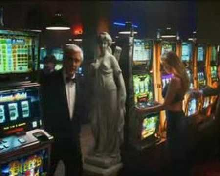 Leslie Nielsen in the PAF Casino