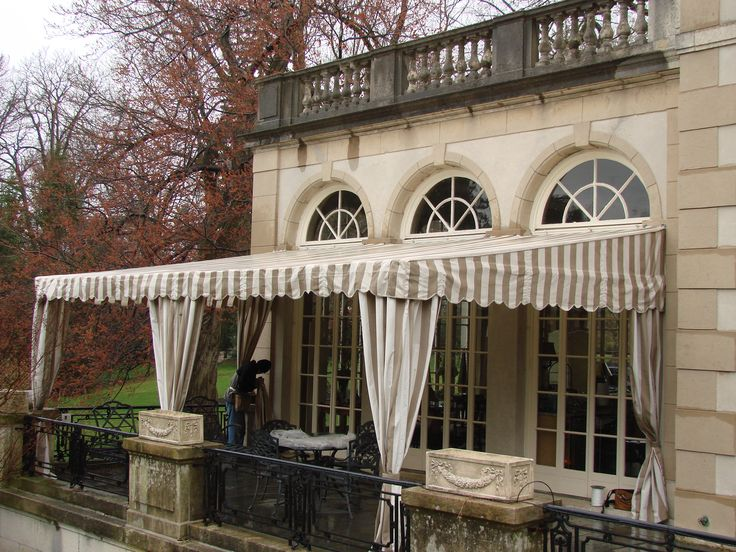 deck awnings | EW Brown Awnings & Canopies » Patio Coverings