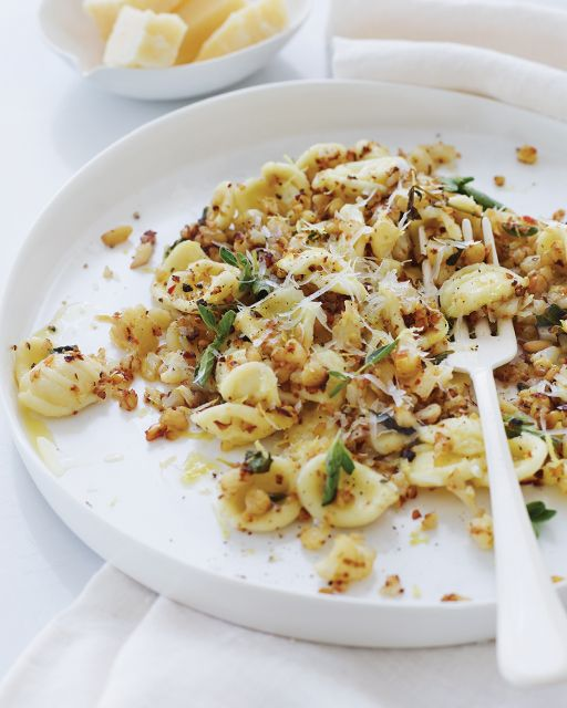 Crispy Cauliflower Pasta by Donna Hay - http://www.sweetpaulmag.com/food/crispy-cauliflower-pasta-by-donna-hay #sweetpaul
