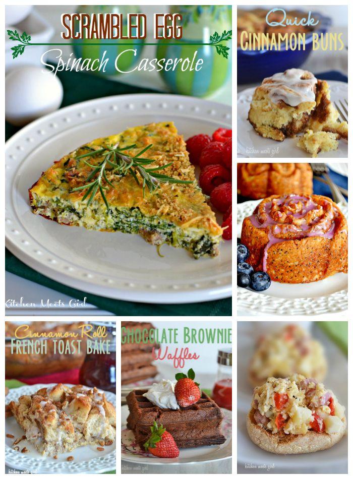 17 best images about breakfast brunch on pinterest for Best easter brunch recipes