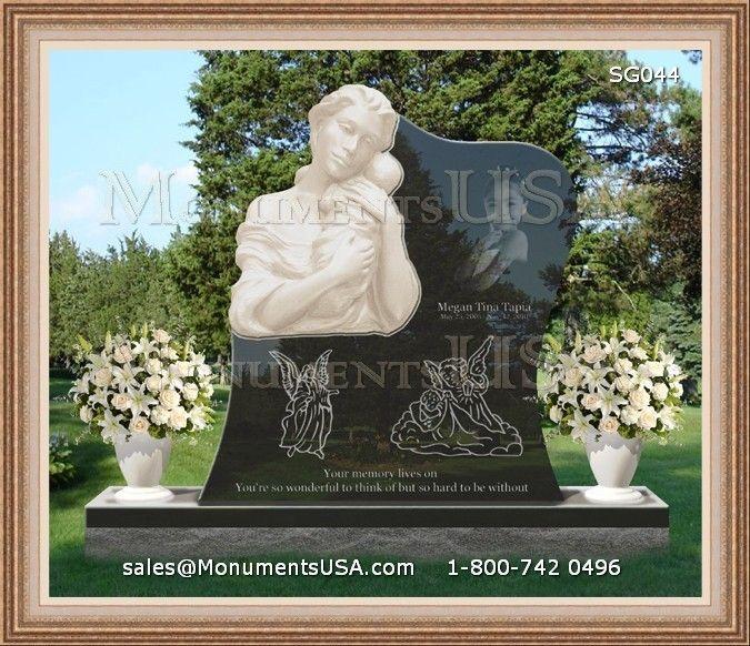 Headstones For Graves For One   Monuments Gravestones For Single