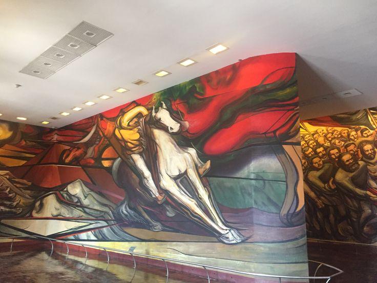 Mural II Castillo Chapultepec CDMX