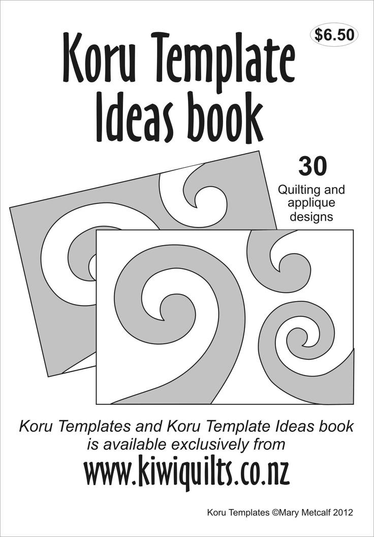 Koru Quilting Designs : Koru templates Ideas booklet Koru Pinterest Ideas, Shops and Templates