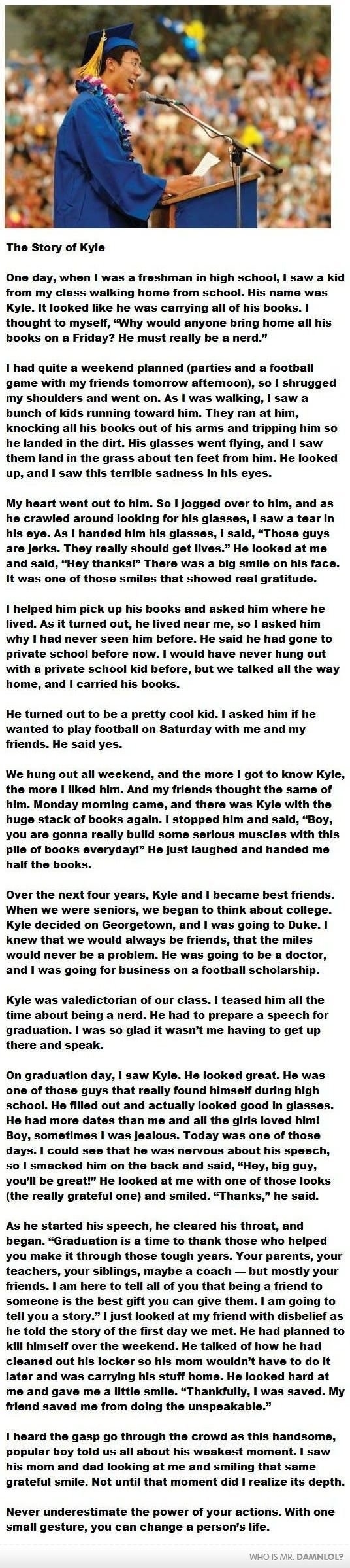 Very Long...But Seriously Worth The Read.