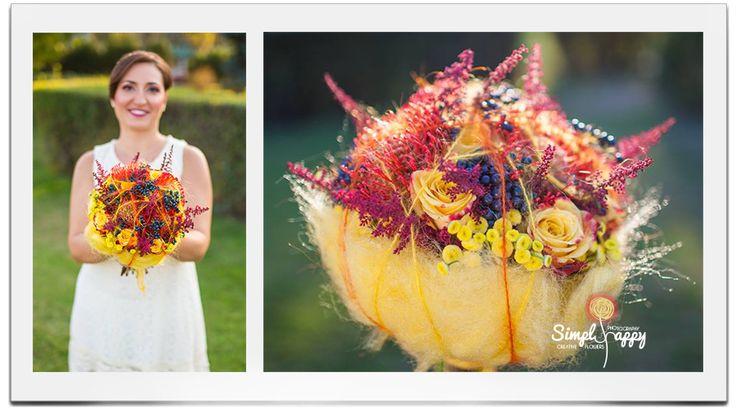 Cotton Candylishious Bridal Bouquet