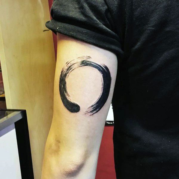 Top 49 Best Tricep Tattoo Ideas 2020 Inspiration Guide Circle Tattoos Tricep Tattoos Tattoos For Guys