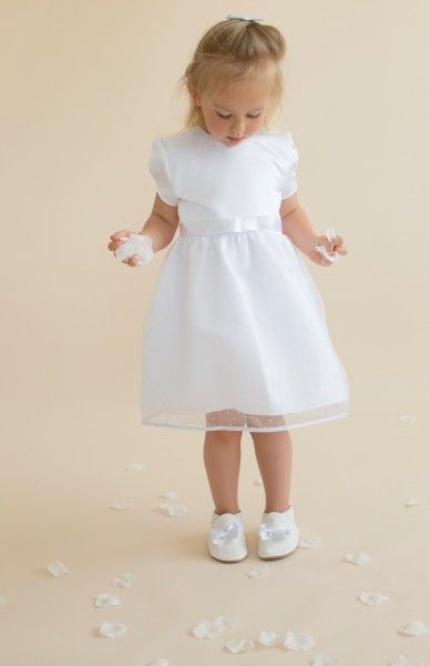 Zauberhaftes weißes Taufkleid für Mädchen für  einen ganz besonderer Tag: Mit HOBEA-Germany Taufbekleidung sehen kleine Mädchen einfach bezaubernd aus: Ob zur Taufe, Hochzeit, als Blumenmädchen oder zu sonstigen festlichen Anlässen!  weißes Kleid Taufkleider Mädchen Taufbekleidung Christening Clothes Babydress dress girl white HOBEA